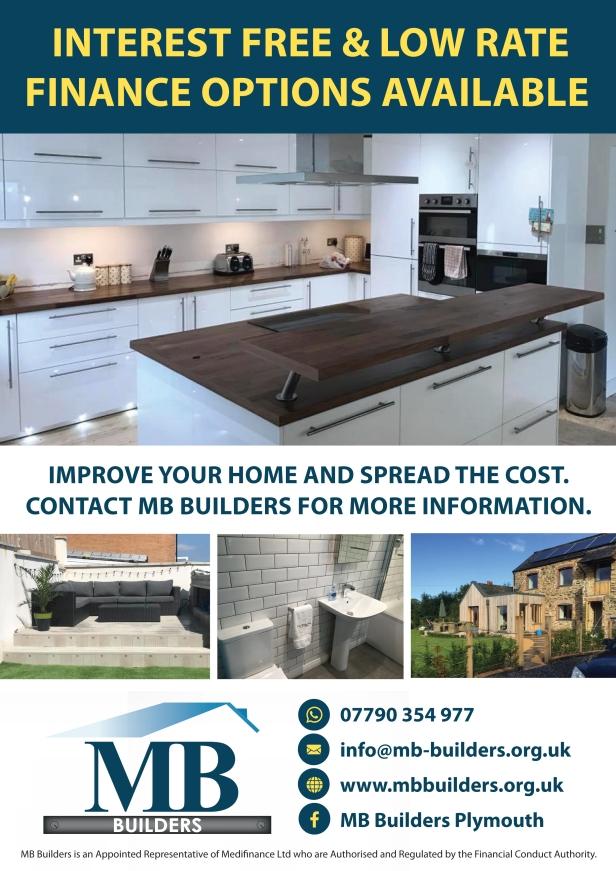 MB Builders Finance flyer